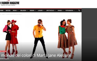 Il mondo dei colori di Marta Jane Alesiani