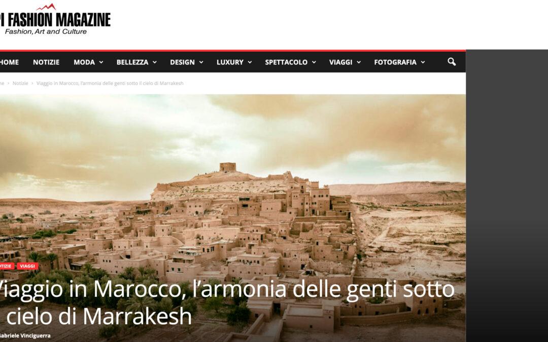 Viaggio in Marocco, l'armonia delle genti sotto il cielo di Marrakesh