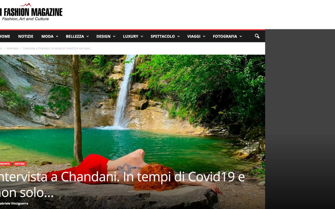 Intervista a Chandani. In tempi di Covid19 e non solo…