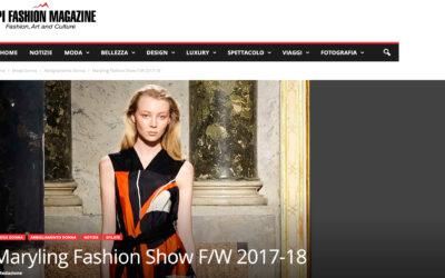 Maryling Fashion Show F/W 2017-18
