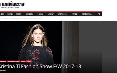 Kristina Ti Fashion Show F/W 2017-18