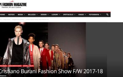 Cristiano Burani Fashion Show F/W 2017-18