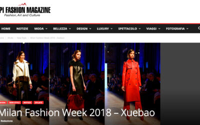 Milan Fashion Week 2018 – Xuebao