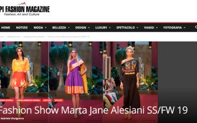 Fashion Show Marta Jane Alesiani SS/FW 19