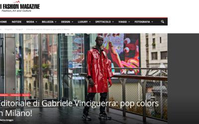 Editoriale di Gabriele Vinciguerra: pop colors in Milano!