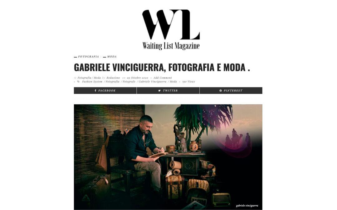 Gabriele Vinciguerra, Fotografia e Moda .