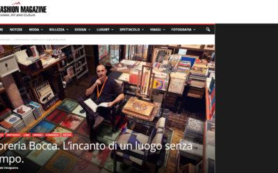 Libreria Bocca. L'incanto di un luogo senza tempo.