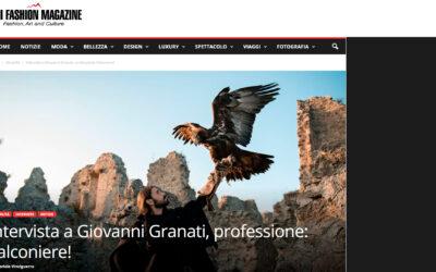 Intervista a Giovanni Granati, professione: Falconiere!