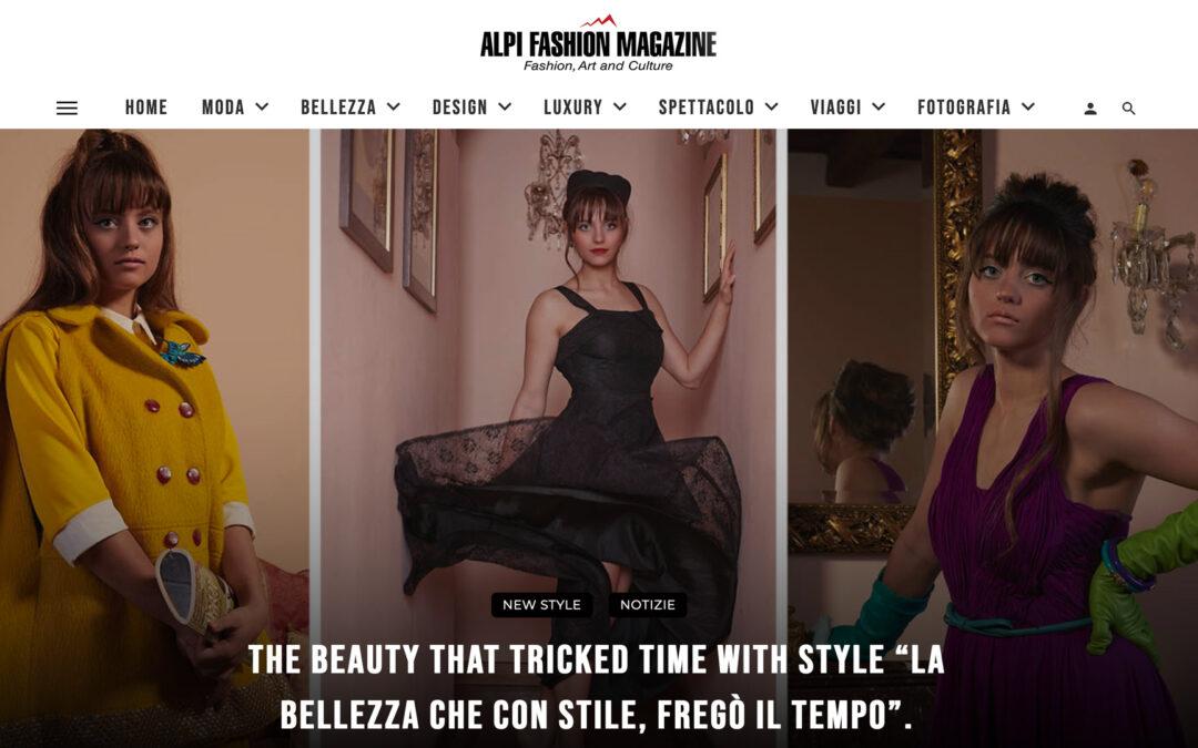 """The Beauty that tricked time with style """"La bellezza che con Stile, fregò il tempo""""."""
