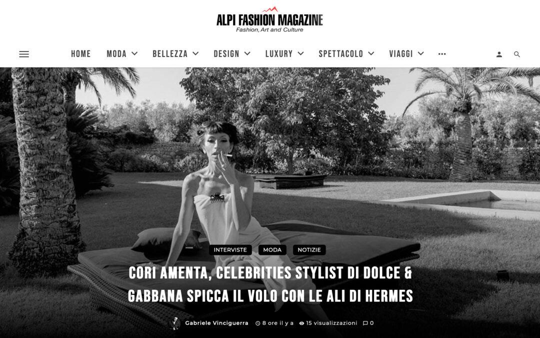 Cori Amenta, celebrities stylist di Dolce & Gabbana spicca il volo con le Ali di Hermes